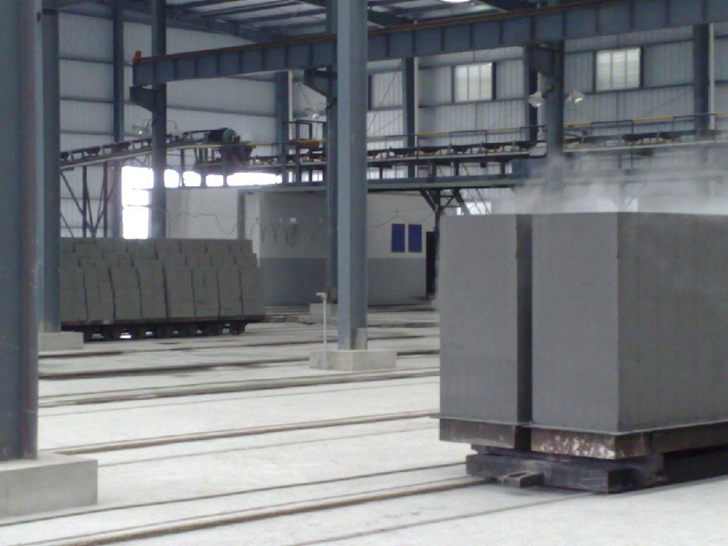 aerated concrete block machine or AAC brick machine