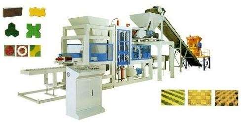 Concrete block making machine BT-QT6-15