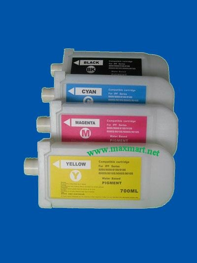 Refillable ink cartridge for Canon IPF8100 9100 1