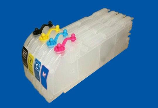 Refillable ink cartridge for Brother LC10000 1
