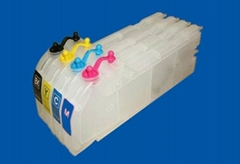 Refillable ink cartridge for Brother LC10000