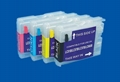 Refillable ink cartridge for Brother LC10000 3