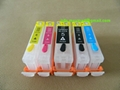 Refillable ink cartridge for Canon IP3300/IP4200/IP4300/IP4500