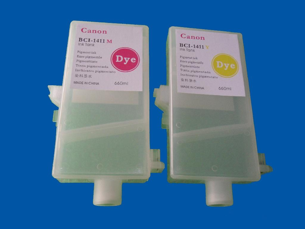 Refillable ink cartridge for Canon W8400 W8200 W7200