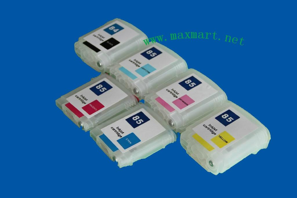 Refillable ink cartridge for HP Designjet 130