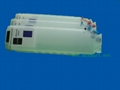 Refillable ink cartridge for HP Officejet 8000 8500