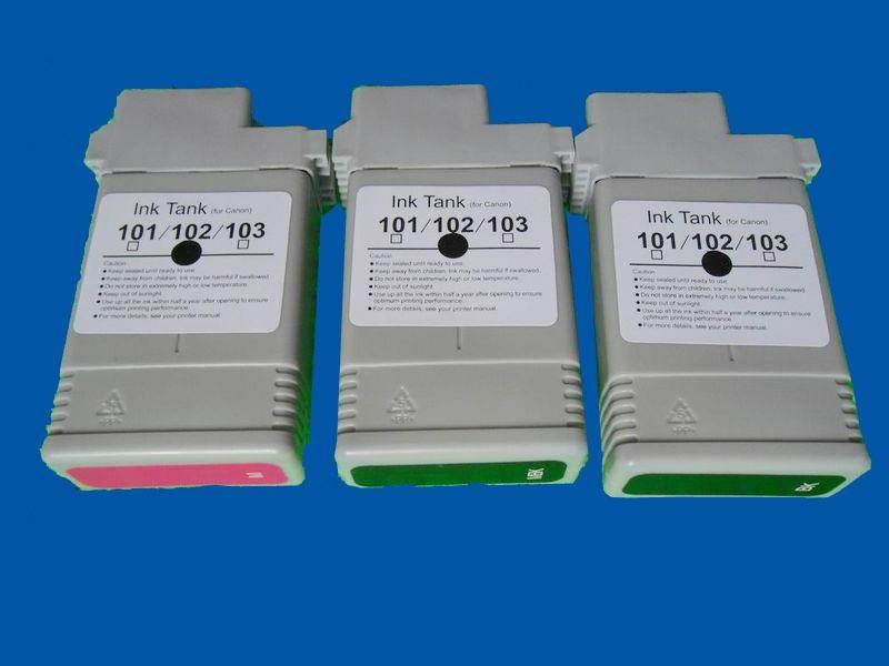 Dye ink for Canon IPF500 IPF510 IPF600 IPF610 IPF700 3