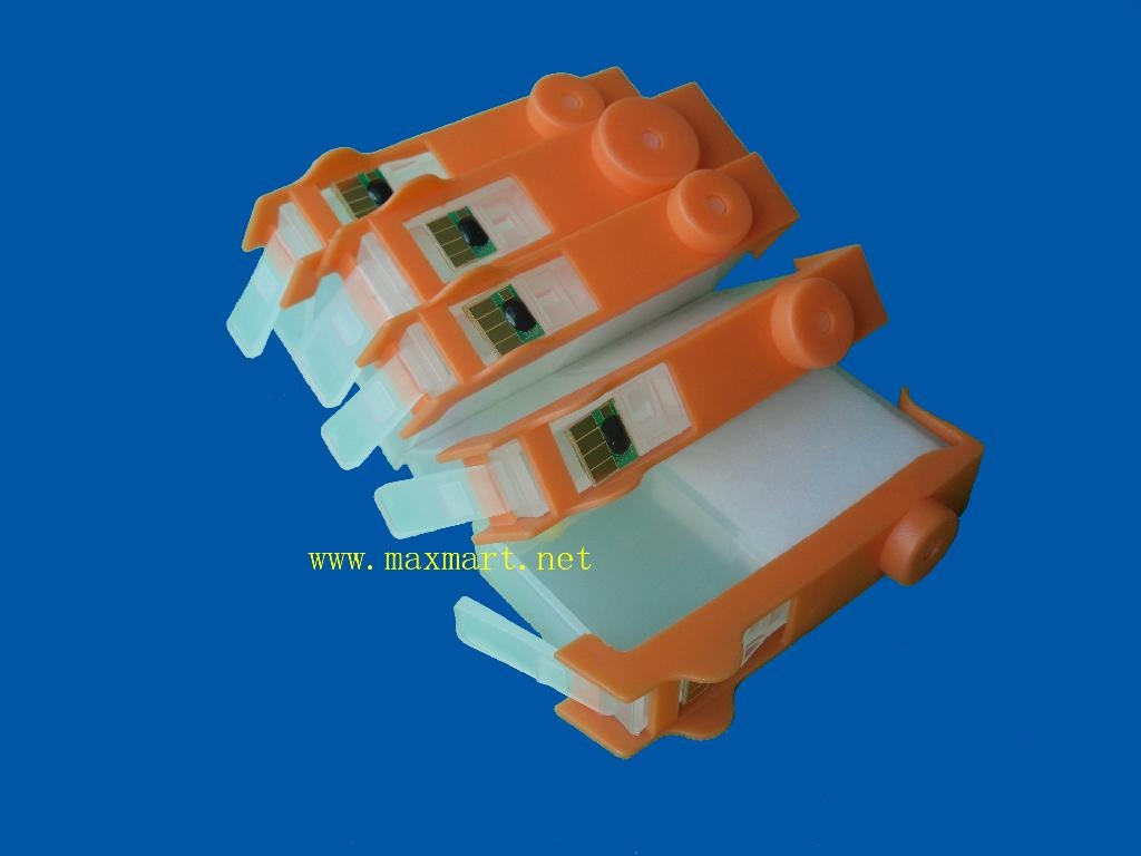 Refillable ink cartridge for HP D5460 C6380 D5463 2