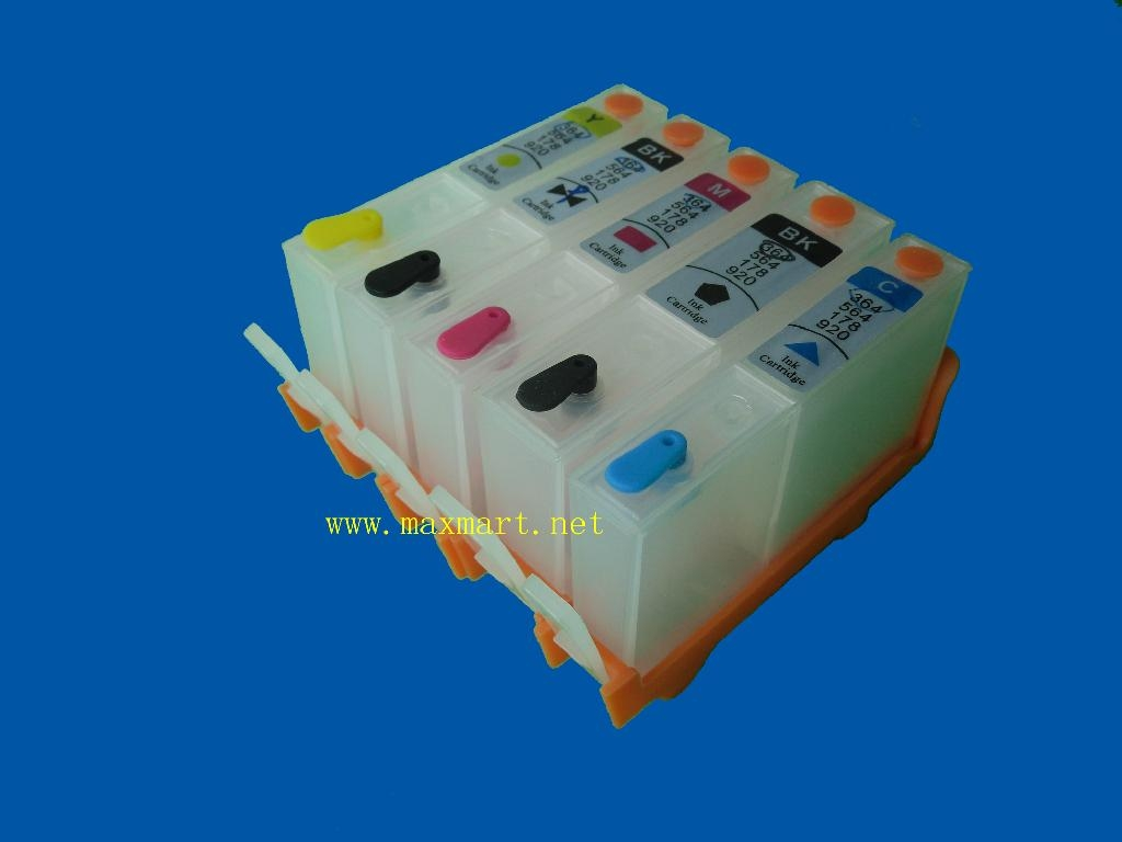 Refillable ink cartridge for HP D5460 C6380 D5463 3