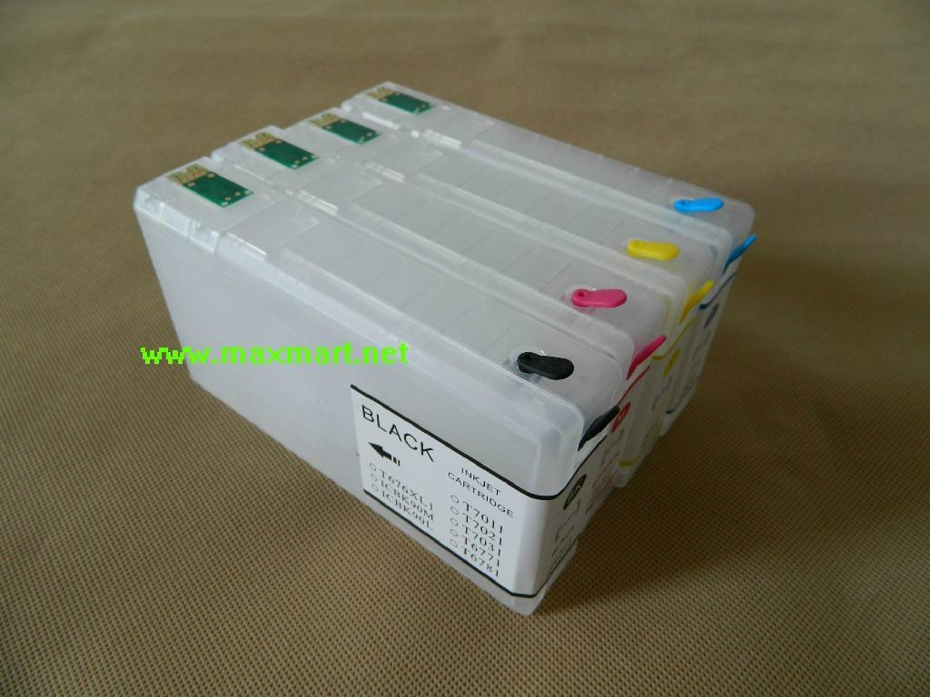 Refill ink cartridge for EPSON WP 4000 WP 4015DN Wf 4025DW WP 4500 WP4515 WP4525