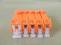 Refillable ink cartridge for Canon PGI-520 CLI-521