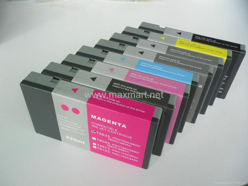 Compatible ink cartridge for Epson 7880 9880 1