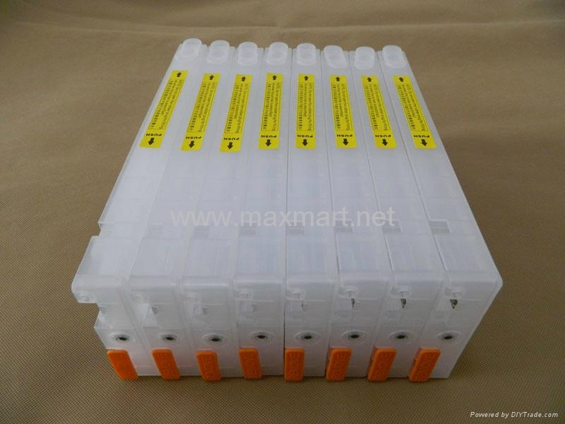 Refillable ink cartridge for Epson 7880 9880