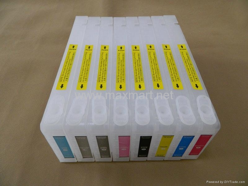 Refillable ink cartridge for Epson 7880 9880 3