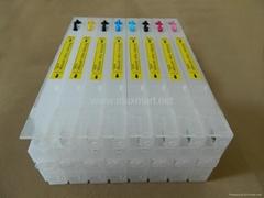 Refillable ink cartridge for Epson Stylus Pro 4800 4880