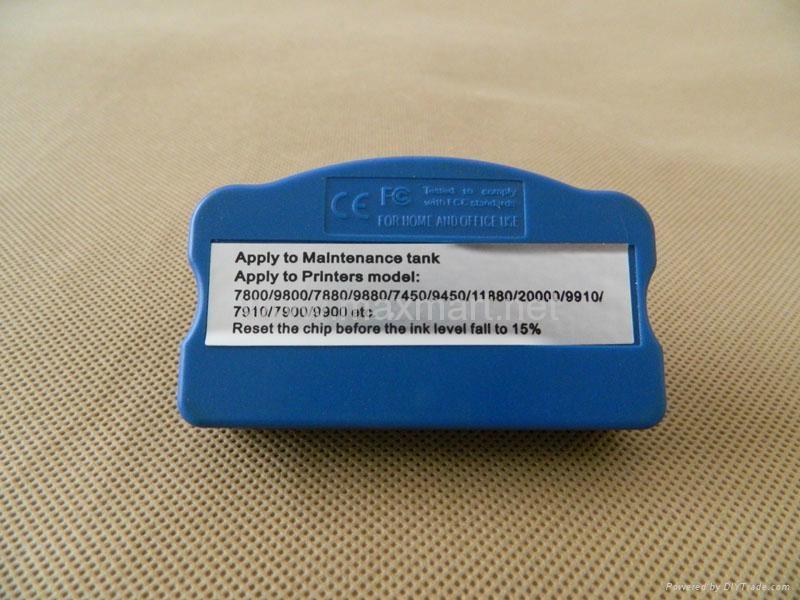 Maintenance Tank Chip Resetter for Epson 7890 9890 7900 9900 Printer