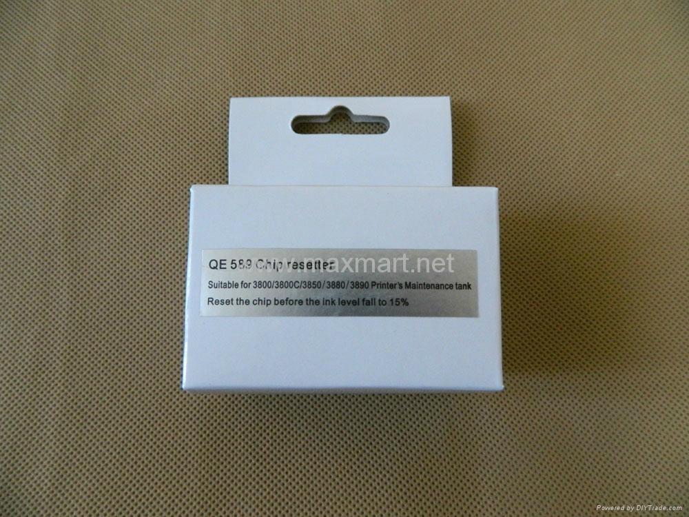 Chip resetter for Epson Stylus Pro 3800 3880 3850 3885 4