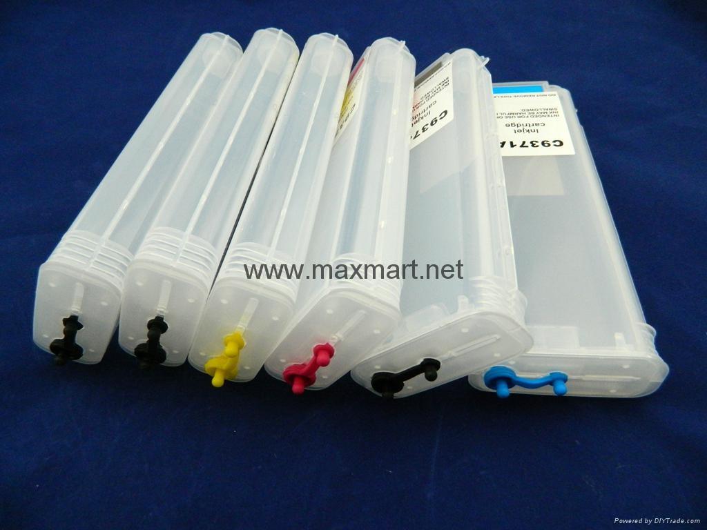Refillable ink cartridge for HP Designjet Z2100 3