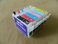 Refillable ink cartridge for Epson Stylus Photo 1400 1430 1500W