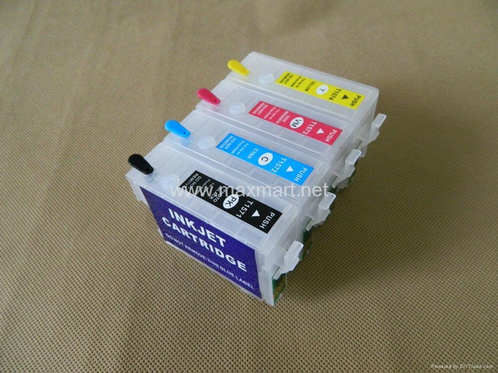 Refillable ink cartridge for Epson Stylus Photo R3000 5
