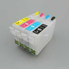 Refillable ink cartridge for Epson  WF-3640 WF-7610 WF-7620 3620 3640 7610 7620