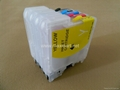 Refillable ink cartridge for LC39/LC985/LC38/LC67