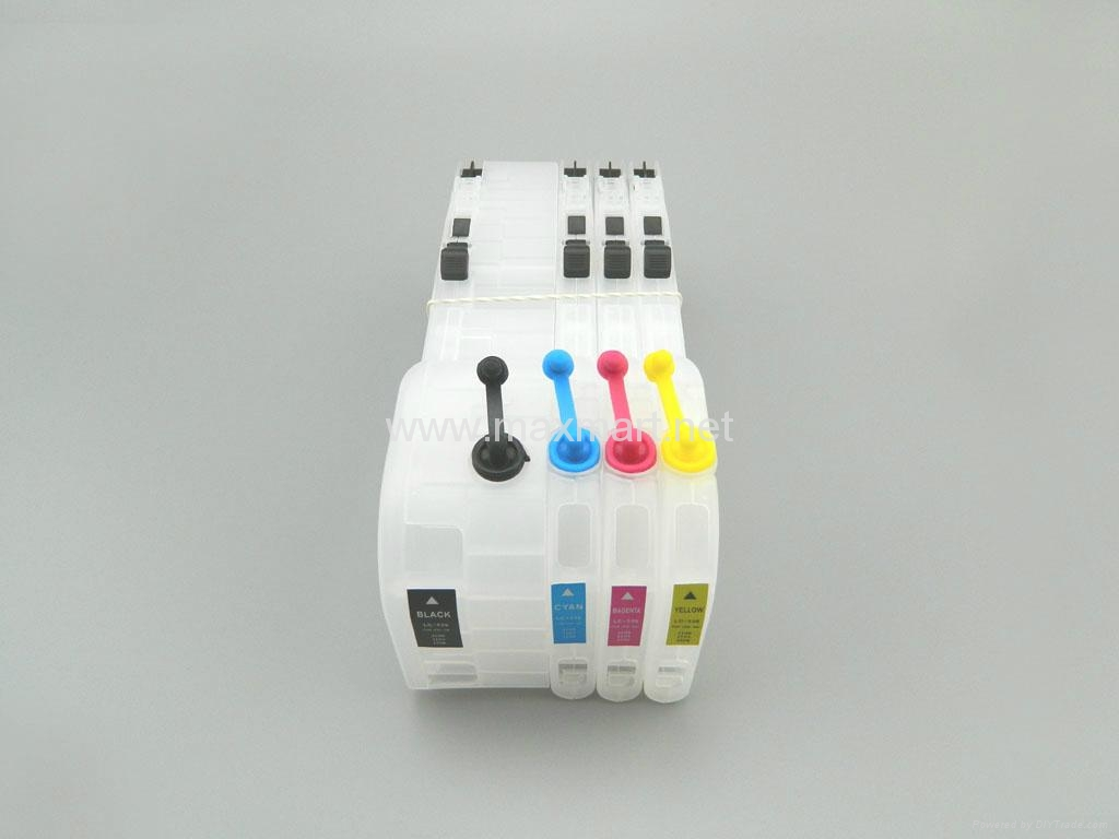 Brother DCP-J100 DCP-J105 DCP-J200 refillable ink cartridge