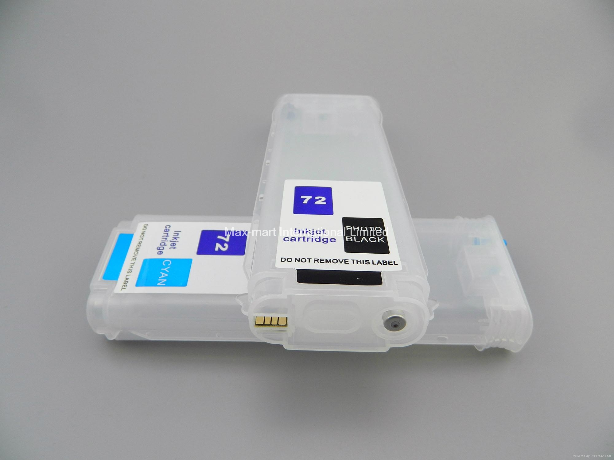 Refillable ink cartridge for HP Designjet T610 T770 T1100 T1200 5