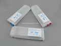Refillable ink cartridge for HP Designjet T610 T770 T1100 T1200 6
