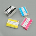 Refillable ink cartridge for HP