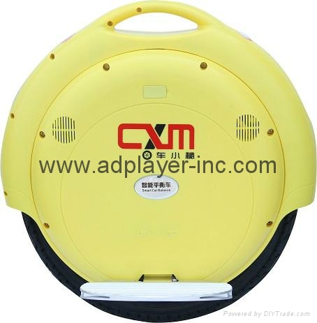 CXM A8 Self-balanced Electric Unicycle 4400mAh 264WH with USB Port LED light 1