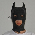 Latex rubber movie batman mask