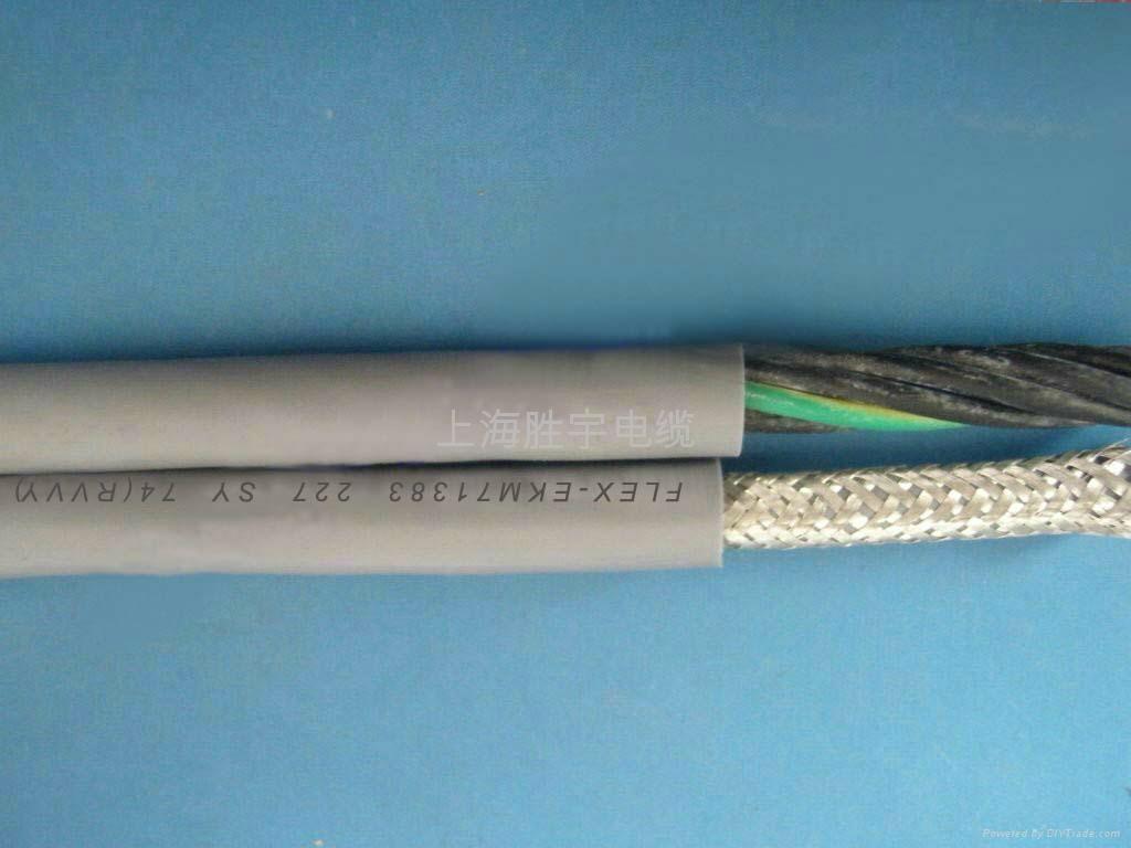 高度柔性屏蔽拖链电缆 2