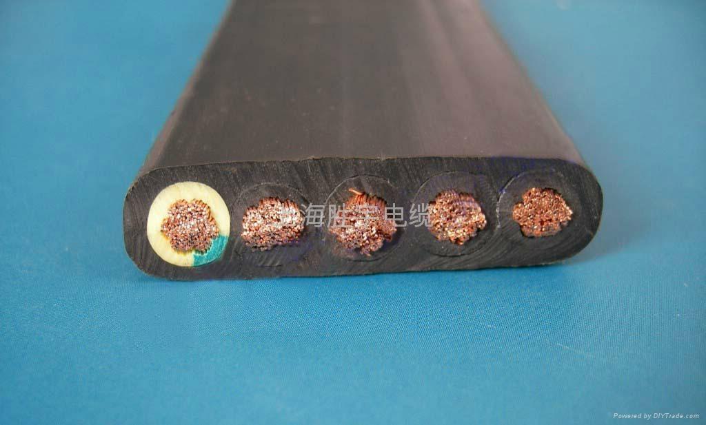 耐低温柔性丁腈扁平电缆 1