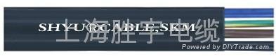 耐低温柔性丁腈扁平电缆 3