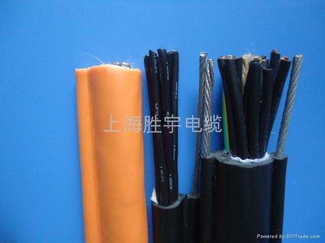 自承式钢索电缆 1