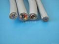 耐弯曲柔性屏蔽抗拉耐磨电缆 1