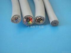 耐弯曲柔性屏蔽抗拉耐磨电缆
