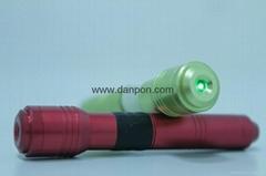 Green beam dot adjustable water proofed laser pointer