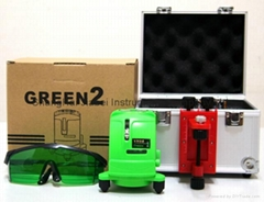 Danpon ultra bright  green beam laser level tool