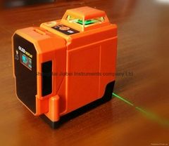 2X360 DEGREE GREEN LASER LEVEL
