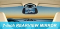 """7""""TFT LCD Rearview mirror monitor with USB/SD/MP5 5"""