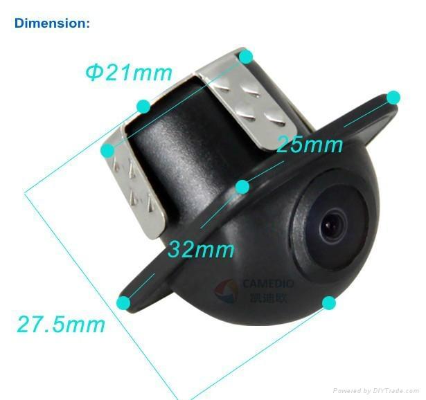 Universal waterproof car rearview backup camera 170 degree  2