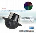 Universal waterproof car rearview backup camera 170 degree  3