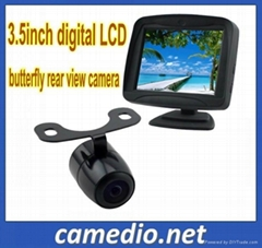 3.5inch digital car rear view reversing system,car monitor with reverse camera