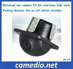 Universal waterproof car rearview backup camera 170 degree