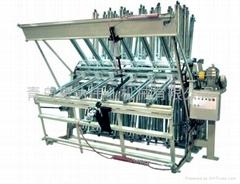 風車式氣動液壓拼板機