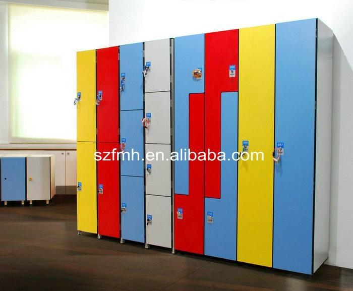 Fireproof phenolic compact lamination lockers 1