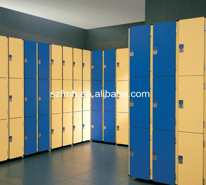 FMH phenolic compact laminate lockers 1