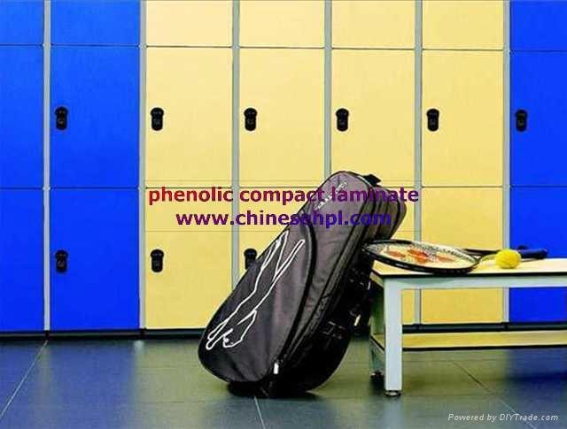 FMH phenolic resign compact laminate lockers 1